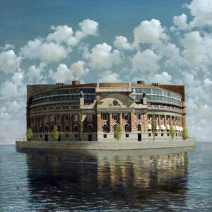 Den isolerade ön, konstverk av Åke Andersson